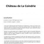 Château de La Coindrie