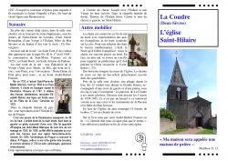 Eglise St Hilaire La Coudre