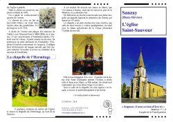 Eglise St Sauveur Sanzay