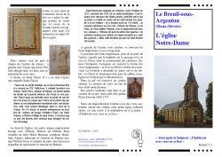 Eglise notre Dame Le-Breuil-sous-Argenton