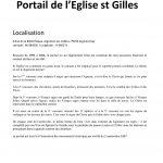 Portail de l Eglise st Gilles