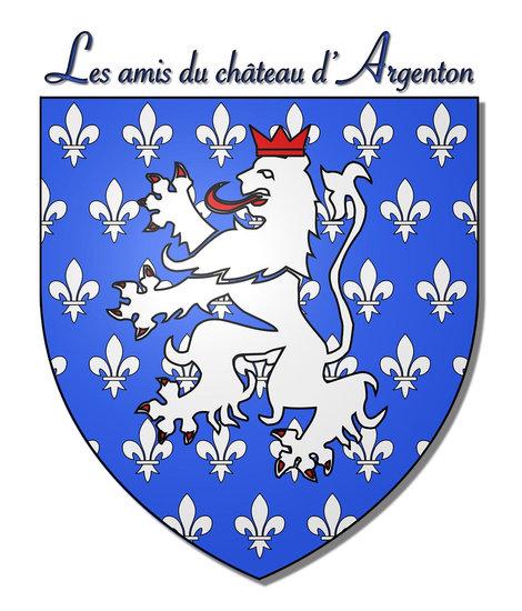 Logo amis du chateau argenton